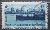 Poštovní známka Nová Kaledonie 1948 Loď v přístavu Mi# 338