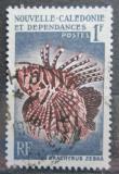 Poštovní známka Nová Kaledonie 1959 Dendrochirus zebra Mi# 364