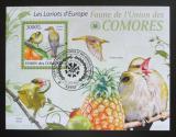 Poštovní známka Komory 2009 Žluva hajní Mi# 2419 Block Kat 15€