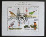 Poštovní známky Komory 2009 Ptáci a majáky Mi# 2705-08 Kat 9€