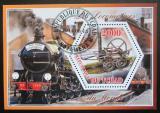 Poštovní známka Čad 2015 Lokomotivy Mi# N/N