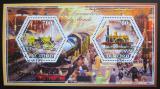 Poštovní známky Čad 2015 Lokomotivy Mi# N/N