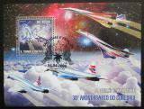 Poštovní známka Svatý Tomáš 2006 Concorde, 30. výročí Mi# Block 533 Kat 12€