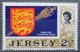 Poštovní známka Jersey, Velká Británie 1970 Znak Jersey Mi # 38