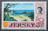 Poštovní známka Jersey, Velká Británie 1970 Záliv Portelet Mi # 40
