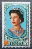 Poštovní známka Jersey, Velká Británie 1970 Královna Alžběta II. Mi # 45
