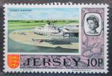 Poštovní známka Jersey, Velká Británie 1970 Letiště Mi # 46