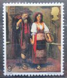 Poštovní známka Jersey, Velká Británie 1971 Umění, Walter William Ouless Mi # 60