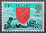 Poštovní známka Jersey, Velká Británie 1976 Letiště Mi # 139