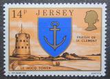 Poštovní známka Jersey, Velká Británie 1976 Věž Le Hocq Mi # 142