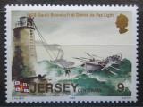 Poštovní známka Jersey, Velká Británie 1984 Záchranářská loď Mi # 324