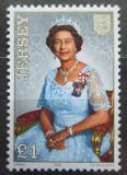 Poštovní známka Jersey, Velká Británie 1986 Královna Alžběta Mi # 377 Kat 4.50€