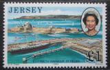 Poštovní známka Jersey, Velká Británie 1989 Přístav St. Helier Mi # 484 Kat 4€