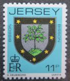 Poštovní známka Jersey, Velká Británie 1981 Erb rodiny Bisson Mi # 264 A