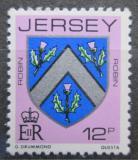Poštovní známka Jersey, Velká Británie 1981 Erb rodiny Robin Mi # 265 A