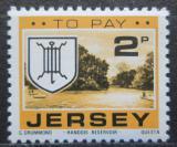 Poštovní známka Jersey, Velká Británie 1978 Znak St. Laurence, doplatní Mi # 22