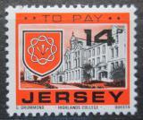 Poštovní známka Jersey, Velká Británie 1978 Znak St. Saviour, doplatní Mi # 28