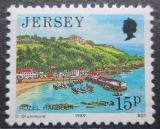Poštovní známka Jersey, Velká Británie 1989 Přístav Rozel Mi # 470