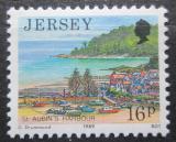 Poštovní známka Jersey, Velká Británie 1989 Přístav St. Aubin Mi # 471