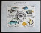 Poštovní známky Komory 2009 Ryby Mi# 2682-85 Kat 9€