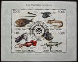 Poštovní známky Komory 2009 Mořská fauna Mi# 2690-93 Kat 9€