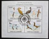 Poštovní známky Komory 2009 Ptáci Oceánie Mi# 2697-2700 Kat 9€