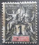 Poštovní známka Madagaskar 1896 Koloniální alegorie Mi# 28