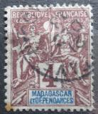 Poštovní známka Madagaskar 1896 Koloniální alegorie Mi# 30