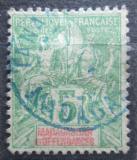 Poštovní známka Madagaskar 1902 Koloniální alegorie Mi# 43