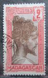 Poštovní známka Madagaskar 1930 Domorodec Mi# 181