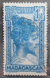 Poštovní známka Madagaskar 1930 Domorodec Mi# 197