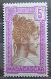 Poštovní známka Madagaskar 1930 Domorodec Mi# 201