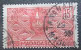Poštovní známka Madagaskar 1930 Domorodkyně Mi# 185