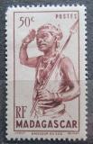 Poštovní známka Madagaskar 1946 Tanečník Mi# 390