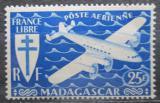 Poštovní známka Madagaskar 1943 Letadlo Mi# 368
