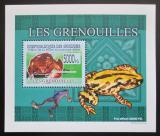 Poštovní známka Guinea 2009 Žáby DELUXE neperf. Mi# 6386 B Block