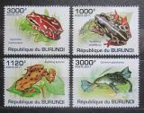Poštovní známky Burundi 2011 Žáby Mi# 2066-69 Kat 9.50€