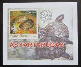Poštovní známka Guinea-Bissau 2003 Želvy DELUXE neperf. Mi# 2580 B Block
