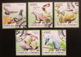 Poštovní známky Komory 2009 Holubi Mi# 2392-96 Kat 10€
