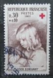 Poštovní známka Francie 1965 Červený kříž Mi# 1533