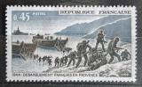 Poštovní známka Francie 1969 Vylodění v jižní Francii, 25. výročí Mi# 1680