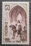 Poštovní známka Maroko 1953 Den známek Mi# 361