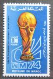 Poštovní známka Maroko 1974 MS ve fotbale Mi# 776
