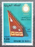 Poštovní známka Maroko 1977 Hudební nástroj Mi# 870