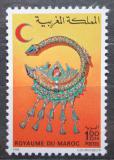 Poštovní známka Maroko 1977 Šperk Mi# 877 Kat 4€