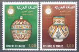 Poštovní známky Maroko 1978 Keramika Mi# 883-84
