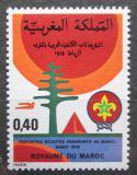 Poštovní známka Maroko 1978 Skautský festival Mi# 892