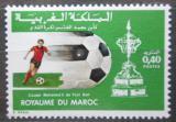 Poštovní známka Maroko 1979 Fotbalový pohár krále Mohammeda Mi# 897