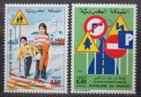 Poštovní známky Maroko 1980 Bezpečnost silničního provozu Mi# 919-20