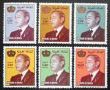 Poštovní známky Maroko 1982-83 Král Hassan II. Mi# 1011-16 Kat 9€
